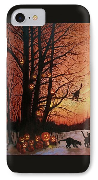The Pumpkin Tree IPhone 7 Case by Tom Shropshire