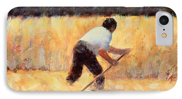 The Reaper Phone Case by Georges Seurat