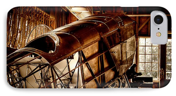 The Red Barn Of The Boeing Company II Phone Case by David Patterson