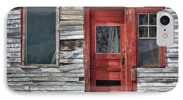 The Red Door IPhone Case by Eric Gendron