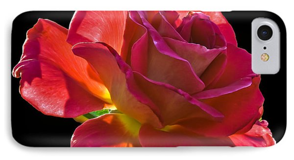 The Red One Phone Case by Robert Bales
