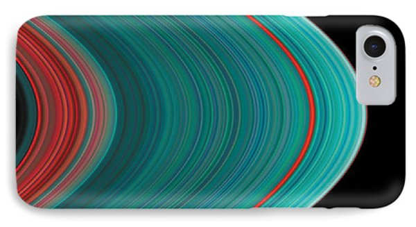 The Rings Of Saturn IPhone Case by Anonymous