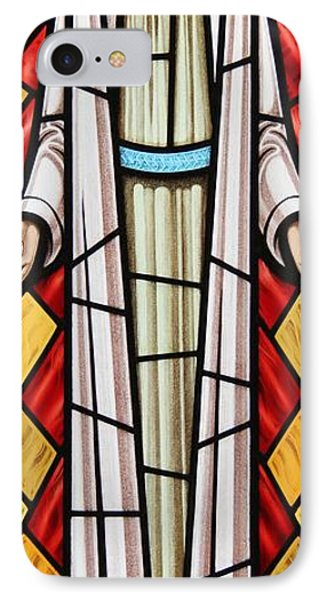 The Risen Christ Phone Case by Gilroy Stained Glass