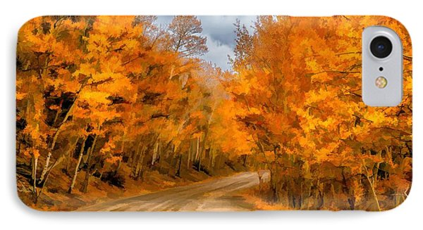 The Road Less Traveled Phone Case by Jon Burch Photography