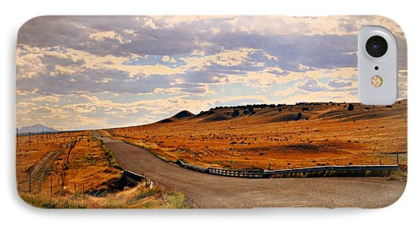 The Road Less Traveled Phone Case by Marty Koch