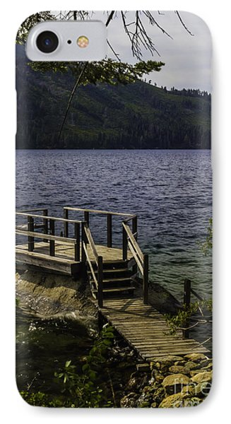 The Rock Dock IPhone Case by Mitch Shindelbower