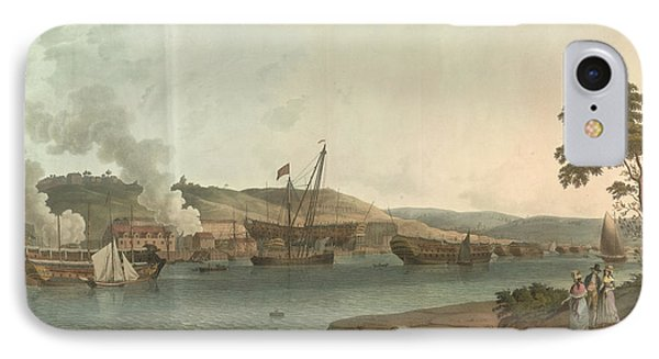 The Royal Dockyard At Chatham IPhone Case by British Library