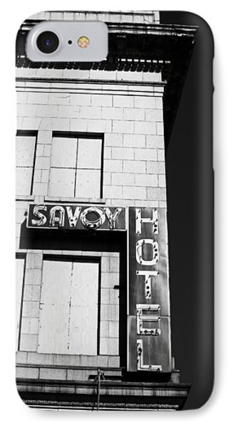 The Savoy Hotel Phone Case by Karol Livote