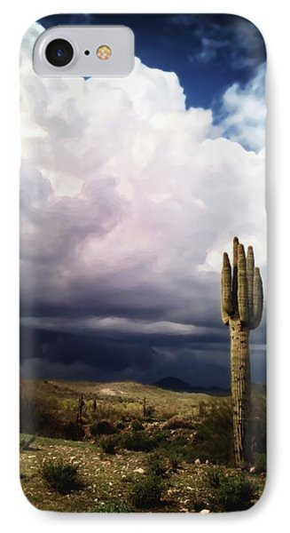 The Scent Of A Wet Desert IPhone Case by Sean Foster