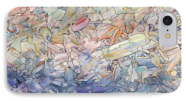 Fragmented Sea IPhone Case by James W Johnson