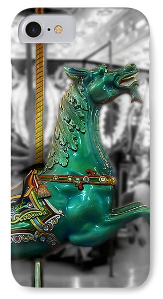 The Sea Dragon - Carousel Phone Case by Colleen Kammerer