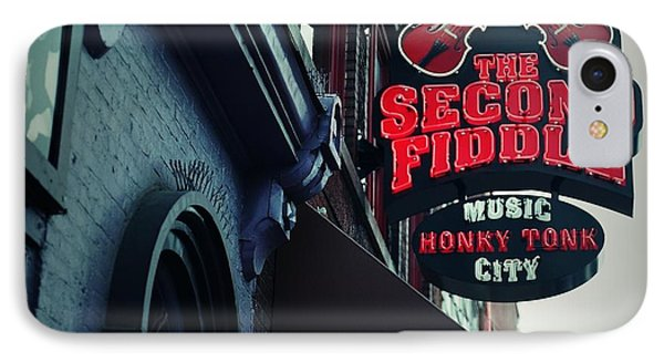 The Second Fiddle IPhone Case by Linda Unger
