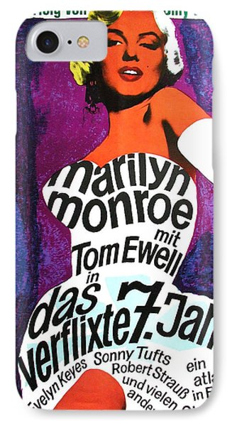 The Seven Year Itch German IPhone Case by Georgia Fowler