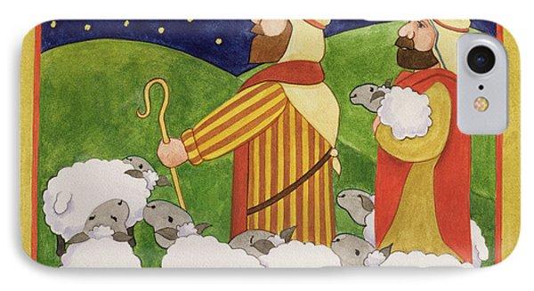 The Shepherds IPhone Case by Linda Benton