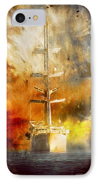 The Ship That Came Home IPhone Case by Georgiana Romanovna