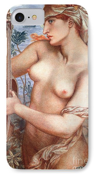 The Siren IPhone Case by Dante Charles Gabriel Rossetti