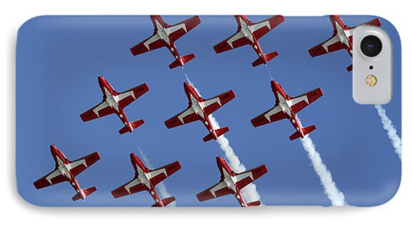 The Snowbirds Keeping It Tight IPhone Case by Bob Christopher