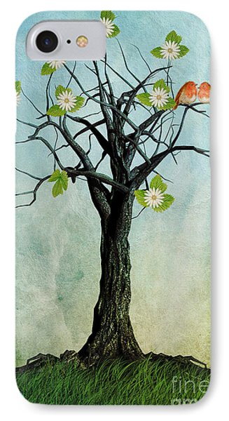 The Song Of Spring IPhone 7 Case by John Edwards
