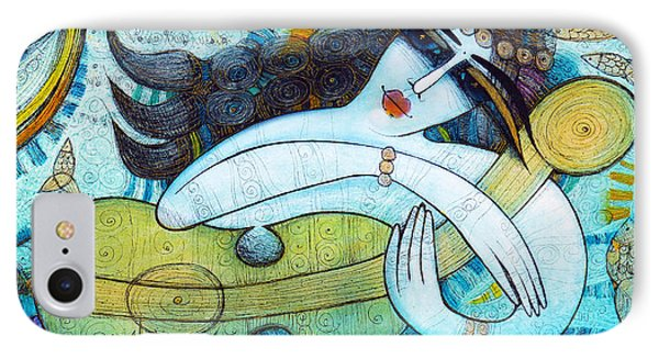 The Song Of The Mermaid IPhone Case by Albena Vatcheva