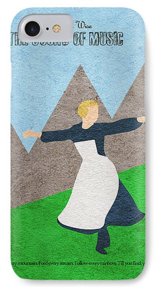 The Sound Of Music IPhone Case by Ayse Deniz