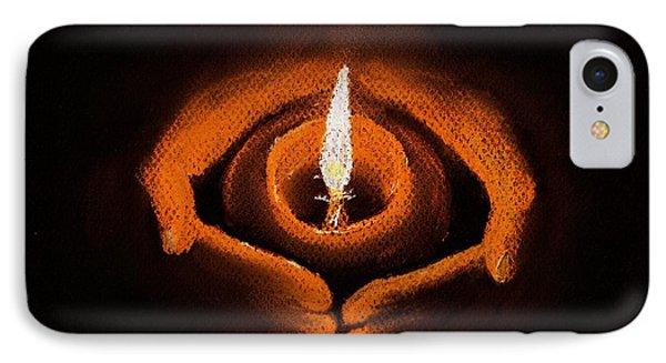 The Spark Of Life IPhone Case by Anastasiya Malakhova
