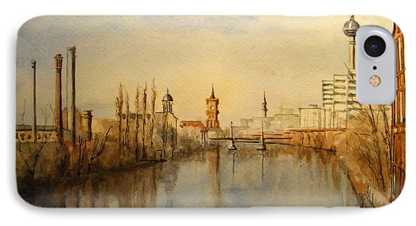 The Spree Berlin IPhone 7 Case by Juan  Bosco