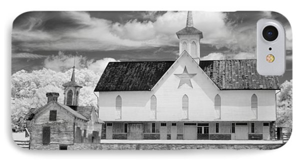 The Star Barn - Infrared IPhone Case by Paul W Faust -  Impressions of Light