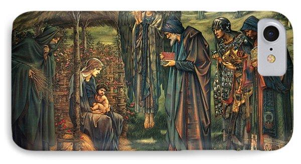 The Star Of Bethlehem IPhone Case by Edward Burne-Jones