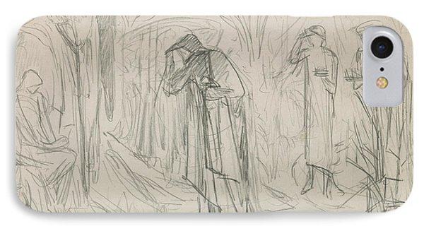 The Star Of Bethlehem IPhone Case by Sir Edward Burne-Jones