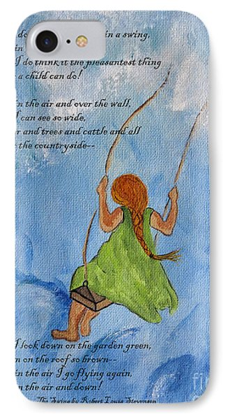 The Swing IPhone Case by Ella Kaye Dickey