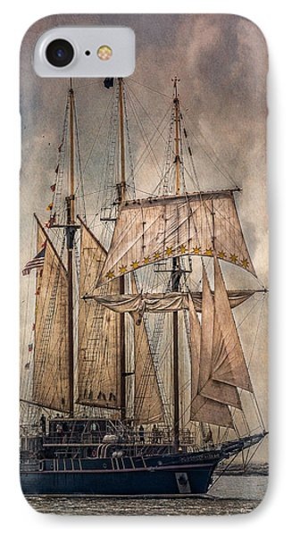 The Tall Ship Peacemaker IPhone Case by Dale Kincaid