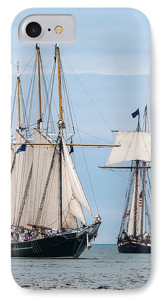 The Tall Ships IPhone Case by Dale Kincaid