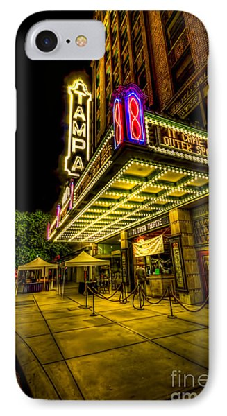 The Tampa Theater IPhone Case by Marvin Spates