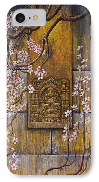 The Temple's Wall Phone Case by Vrindavan Das