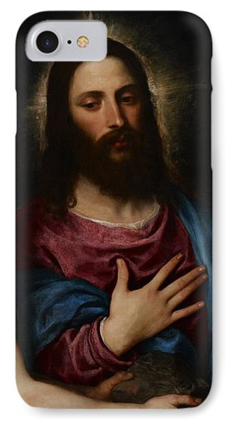 The Temptation Of Christ IPhone Case by Titian