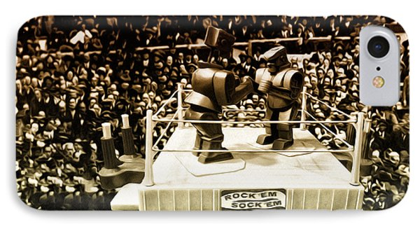 The Thrilla In Toyvilla IPhone Case by Bill Cannon