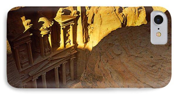 The Treasury At Petra, Wadi Musa, Jordan IPhone Case by Panoramic Images