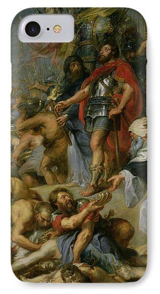 The Triumph Of Judas Maccabeus IPhone Case by Peter Paul Rubens