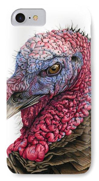 The Turkey IPhone 7 Case by Sarah Batalka