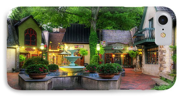 The Village Of Gatlinburg Phone Case by Greg and Chrystal Mimbs
