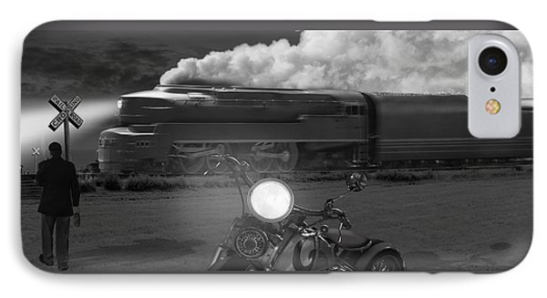 The Wait - Panoramic IPhone Case by Mike McGlothlen