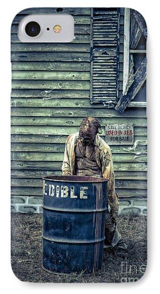 The Walking Dead IPhone Case by Edward Fielding