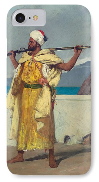The Watchful Guard IPhone Case by Jean Joseph Benjamin Constant