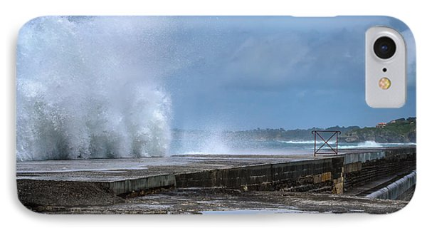 IPhone Case featuring the photograph The Wave by Thierry Bouriat