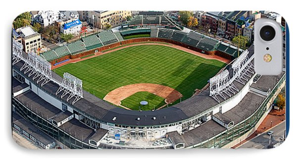 The Way It Was Chicago Cubs Wrigley Field 02 IPhone Case by Thomas Woolworth