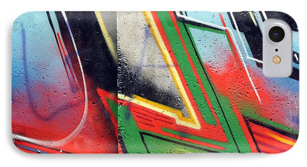 The West Side Of The Wall IPhone Case by Steve K