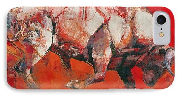 The White Bull IPhone 7 Case by Mark Adlington