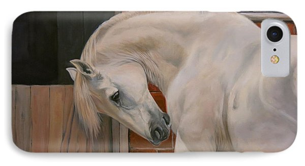 The White Pony IPhone Case by Jeanne Newton Schoborg