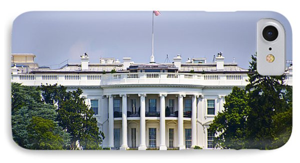 The Whitehouse - Washington Dc IPhone 7 Case by Bill Cannon