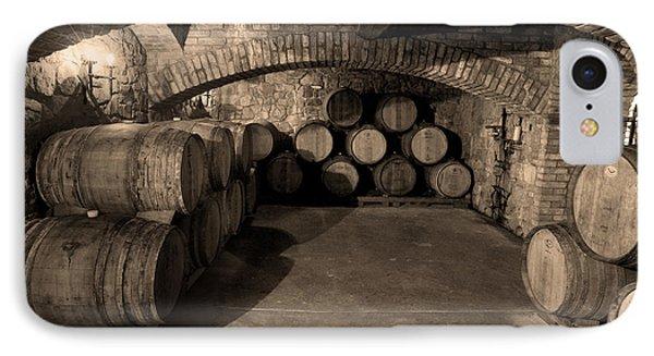 The Wine Cave IPhone Case by Jon Neidert